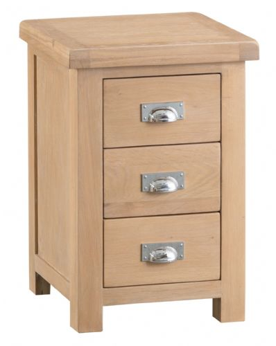 Lowestoft Oak Large Bedside Cabinet